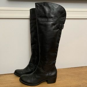 Vince Camuto Studded Black Boots